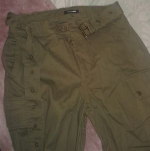 Cargo pants (with long belt)